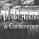 Common Mistakes to Avoid When Hosting A Conference