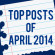 Top Blog Posts and Tweets of April 2014
