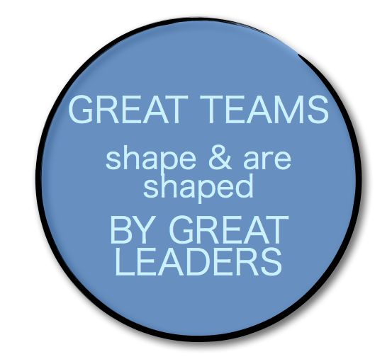 great teams great leaders