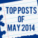 Top Posts of May 2014