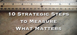 10 Strategic Steps to Measure What Matters