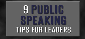 9 Public Speaking Tips for Leaders