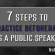 7 Steps to Practice Beforehand as a Public Speaker