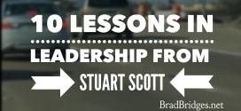 10 Lessons in Leadership from Stuart Scott
