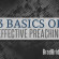 3 Basics of Effective Preaching