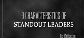 9 Characteristics of Standout Leaders