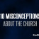 10 Misconceptions About The Church